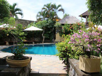 Het Sri Phala hotel in Sanur op Bali, Indonesie