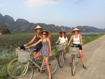 Op de fiets door Vietnam