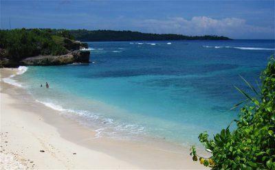 Parelwit strand in Nusa Lembongan