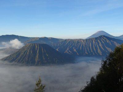 Top van de Bromo vulkaan