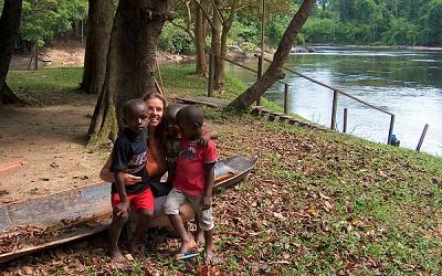 Irene van KidsReizen in Suriname