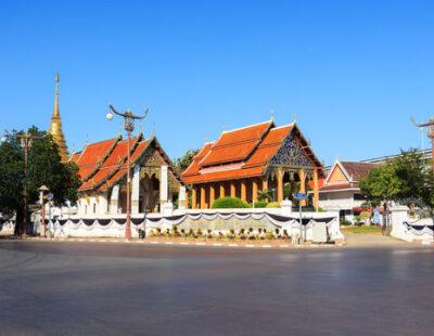 Tempels in Chiang Mai, Thailand